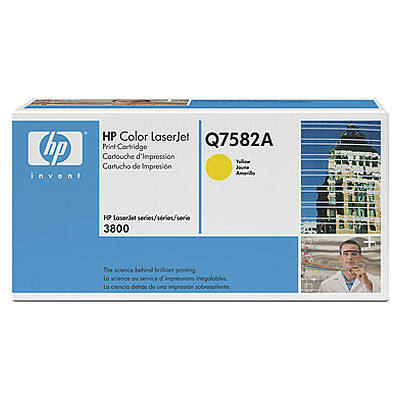 Toner HP Q7582A Yellow 6K Original 503A