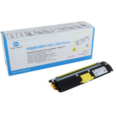 Minolta MC 2400/2500 eredeti festékkazetta sárga