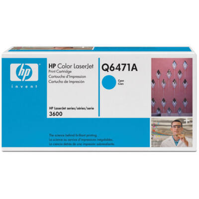 Toner HP Q6471A Cyan 4K Original 502A