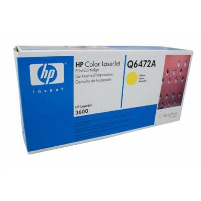 Toner HP Q6472A Yellow 4K Original 502A